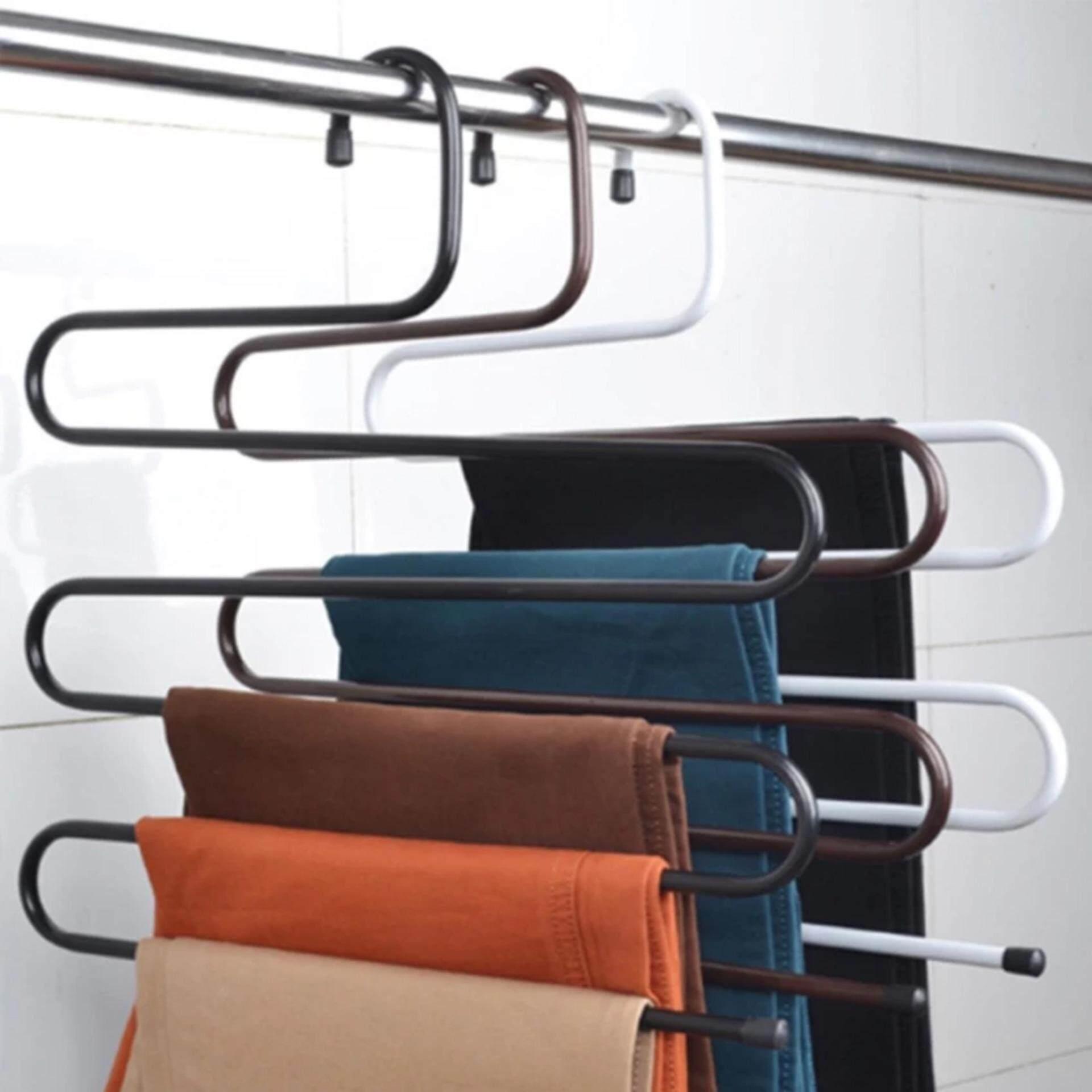 ซื้อ Cassa ชุด Set 4ชิ้น ไม้แขวนกางเกง แบบประหยัดพื้นที่ ภายในตู้เสื้อผ้า สีน้ำตาล รุ่น 188 Hc7481 Br ออนไลน์ สมุทรปราการ