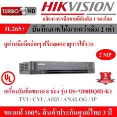 Hikvision DVR (เครื่องบันทึกกล้องวงจรปิด) 8 ช่อง รุ่น DS-7208HQHI-K1
