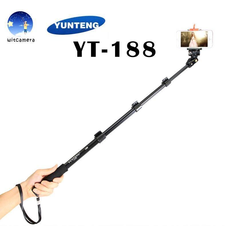 Yunteng Monopod ไม้เซลฟี่ รุ่น Yt-188 ไม้ถ่ายรูป.