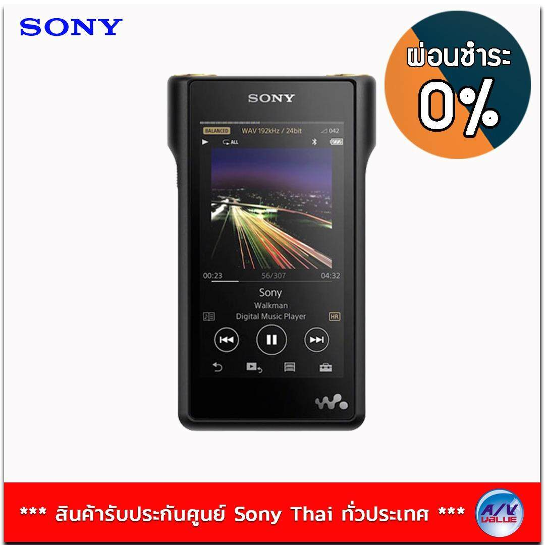Sony Hi-res Walkman รุ่น NW-WM1A สี Black
