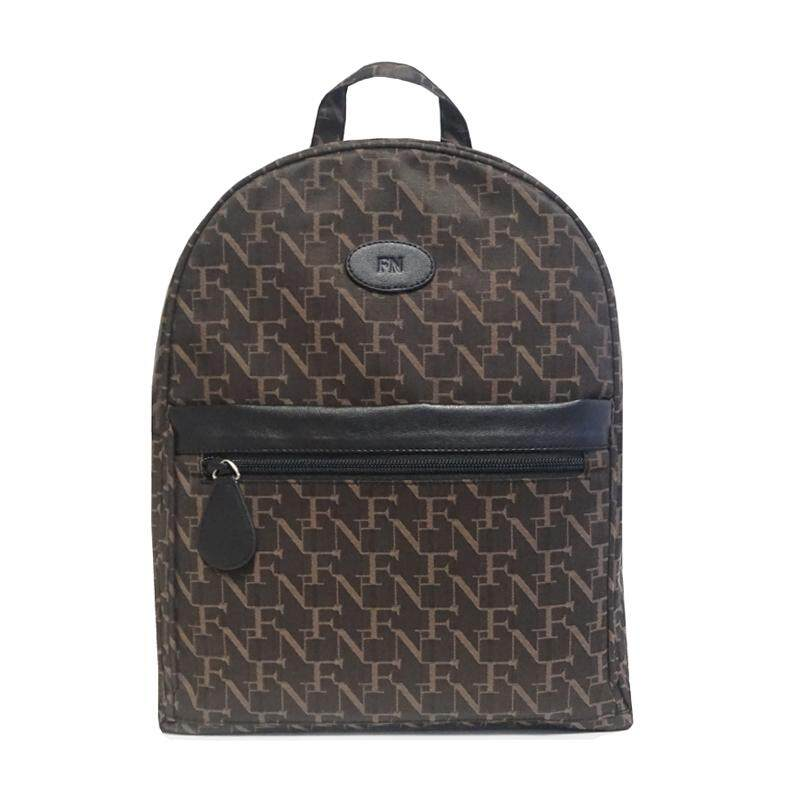 กระเป๋าสะพายพาดลำตัว นักเรียน ผู้หญิง วัยรุ่น จันทบุรี FN BAG  กระเป๋าเป้สะพายหลัง BACKPACK  1208 21008 011 Col Black
