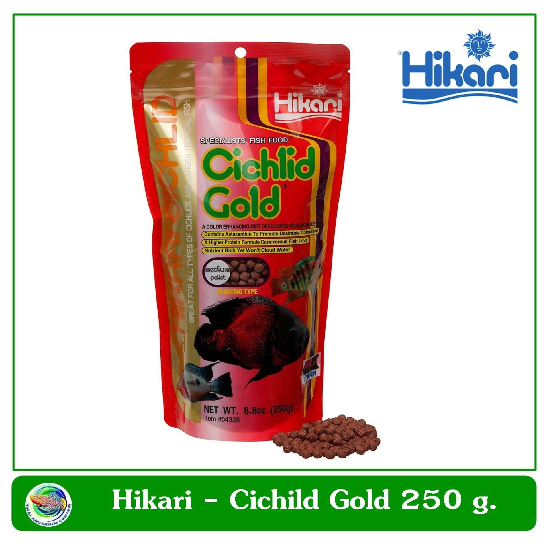ขาย Hikari Cichlid Gold Mini Pellet อาหารปลาหมอสี 250 G Hikari ผู้ค้าส่ง