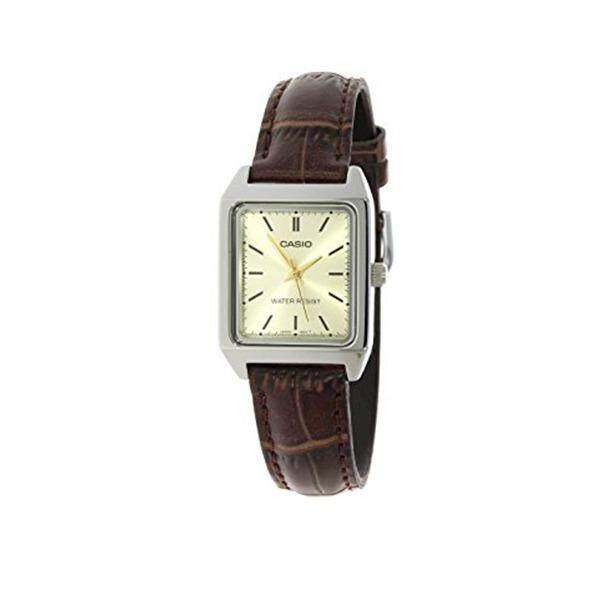 ทบทวน Casio Standard นาฬิกาข้อมือ สายหนัง รุ่น Ltp V007L 9Eudf สีน้ำตาล Casio