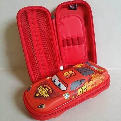 สุดยอดสินค้า!! ส่งฟรี Kerry!!! ขาย กล่องดินสอสมิกเกิ้ล EVA กระเป๋าดินสอ กล่องดินสอทรง smiggle hardtop pencil case 3d 3ดี คาร์แม็คควีน Car Mcqueen