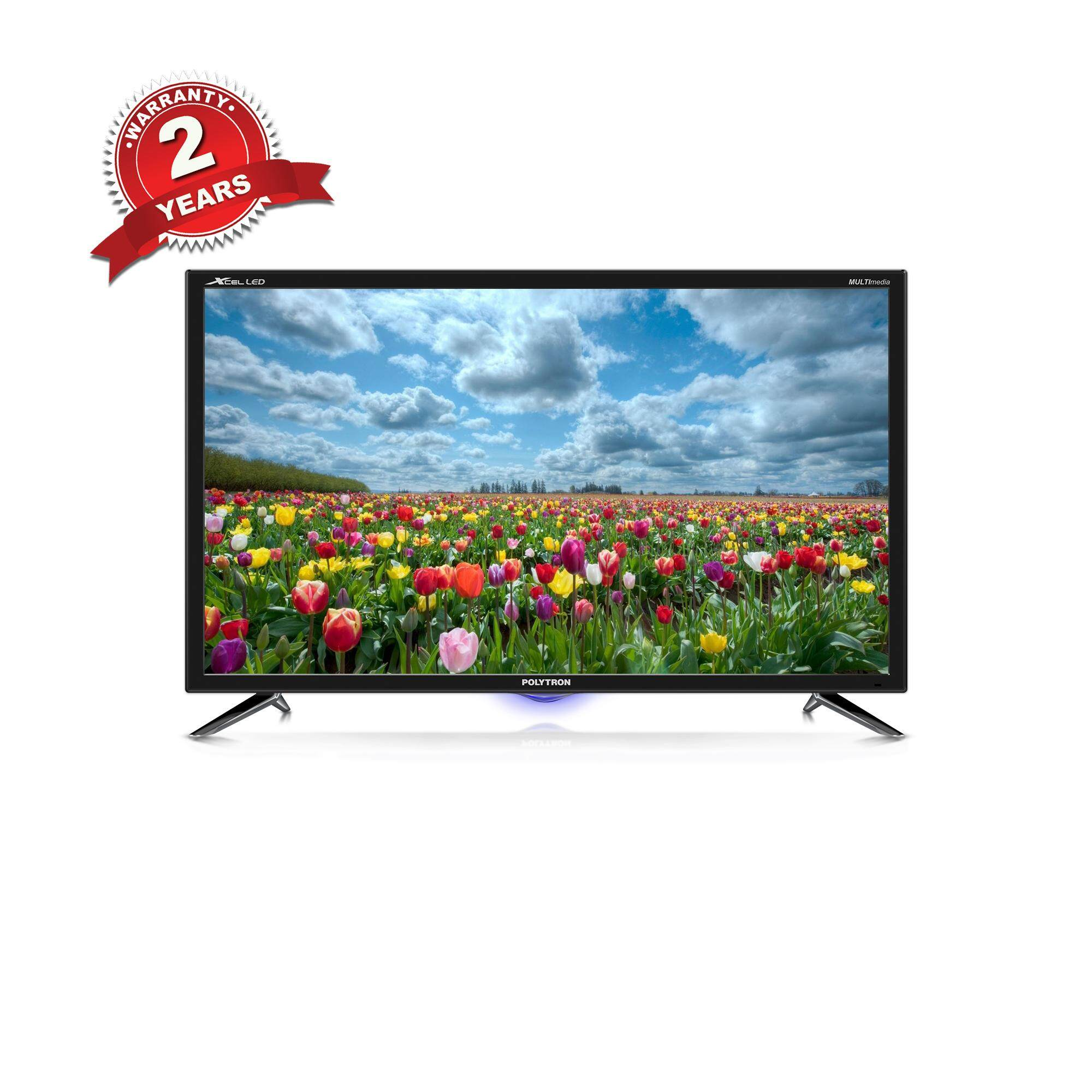 "POLYTRON LED TV 32"" ANALOG รุ่น PLD 32D710 ."