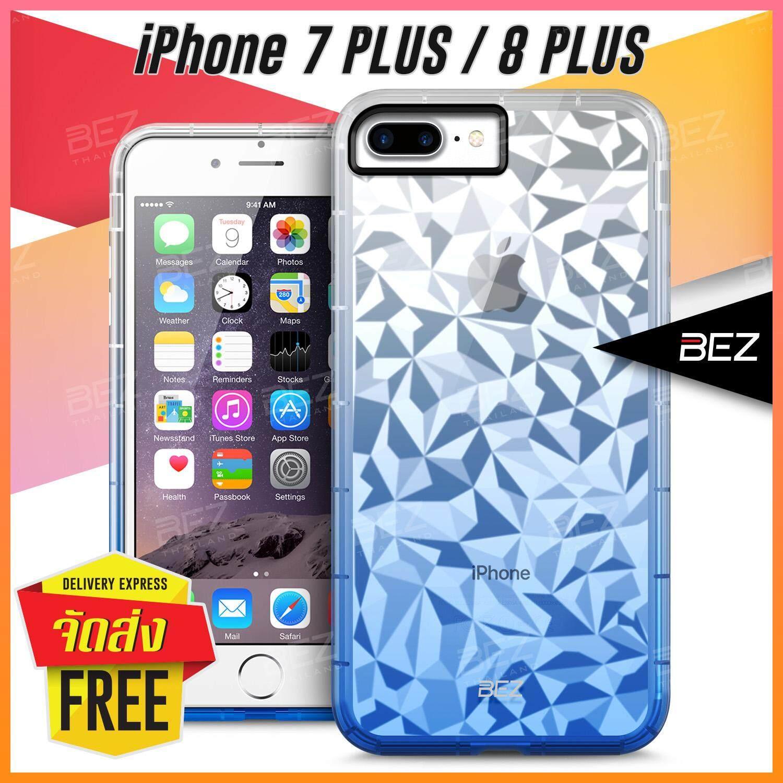 เคส iPhone 8 Plus Case เคส iPhone 7 Plus Case เคสมือถือ iPhone 7+ เคสไอโฟน 8+ เคสโทรศัพท์ ไอโฟน 8 พลัส ไอโฟน7พลัส BEZ Icy Crystal Case เคสนิ่ม ซิลิโคน โปร่งใส เคสฝาหลัง กันกระแทก Transparent TPU Cover / JIC 7GP-