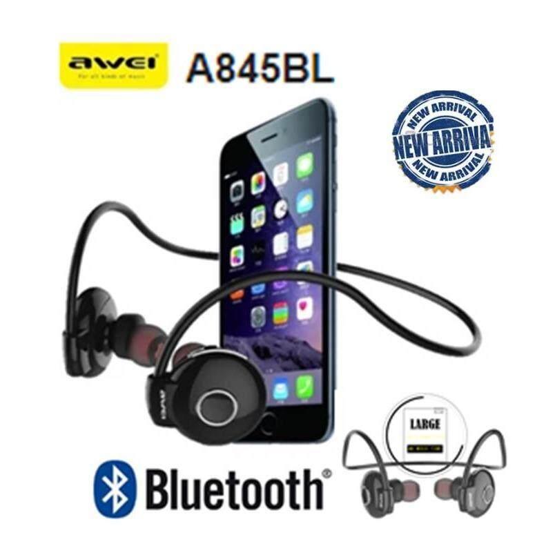 ทบทวน Awei A845Bl Bluetooth Smartsports Headphones สีดำ