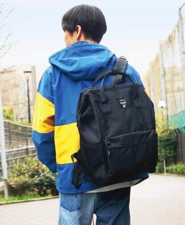 สระแก้ว ANELLO LIMITED EDITION All Black backpack รุนฮิตติดชาร์จ กระเป๋าเป้แบรนด์ดังสไตล์ญี่ปุ่น
