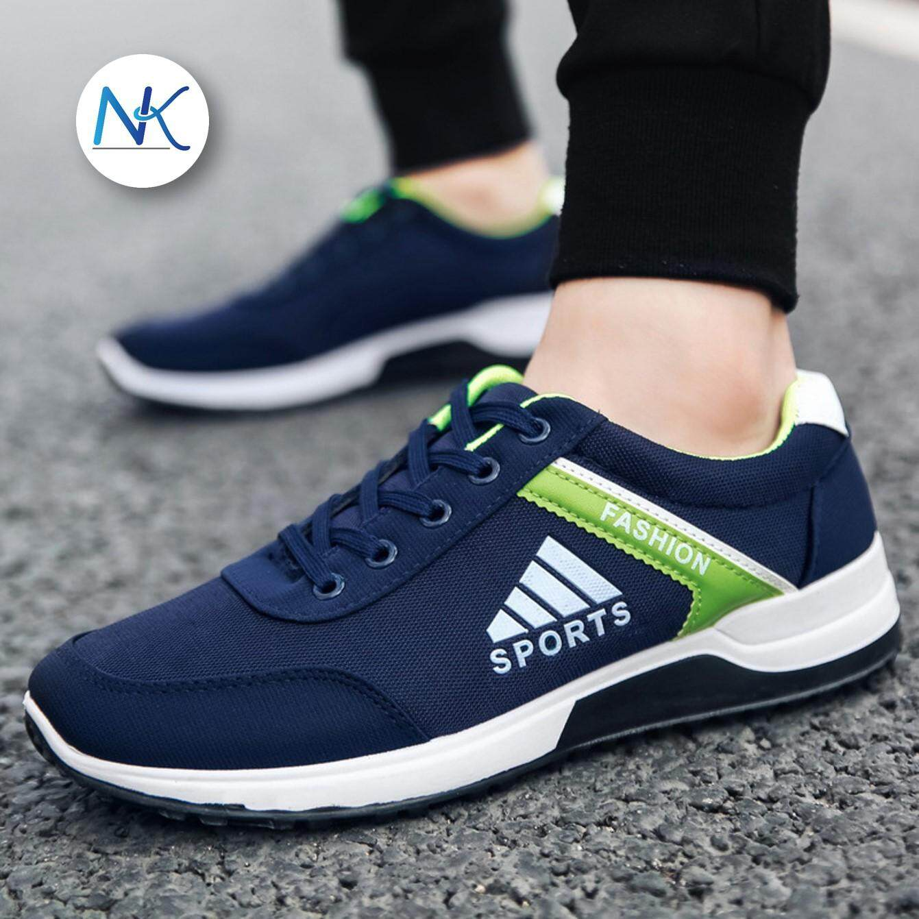 aliyahshop รองเท้าผ้าใบผู้ชาย  สไตล์ SPORTS
