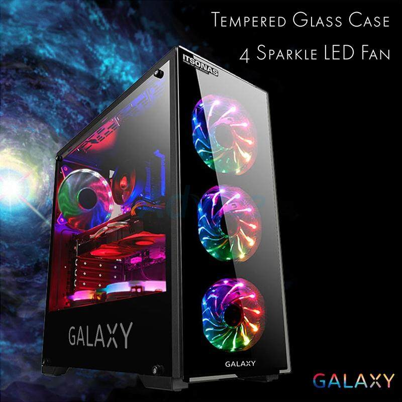 Atx Case (np) Itsonas Galaxy Sparkle (black) By Lnwitem.