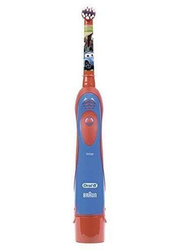 แปรงสีฟันไฟฟ้า ทำความสะอาดทุกซี่ฟันอย่างหมดจด ลำพูน Oral B Stages Electric Toothbrush for Kids Disney Cars แปรงสีฟันไฟฟ้า ลาย Disney Cars