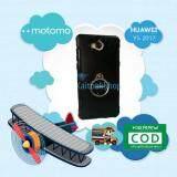 Motomo Back Cover Case เคสกันกระแทก มีแหวน ตั้งได้ # Huawei Y5 2017 {ส่งฟรี! Kerry}