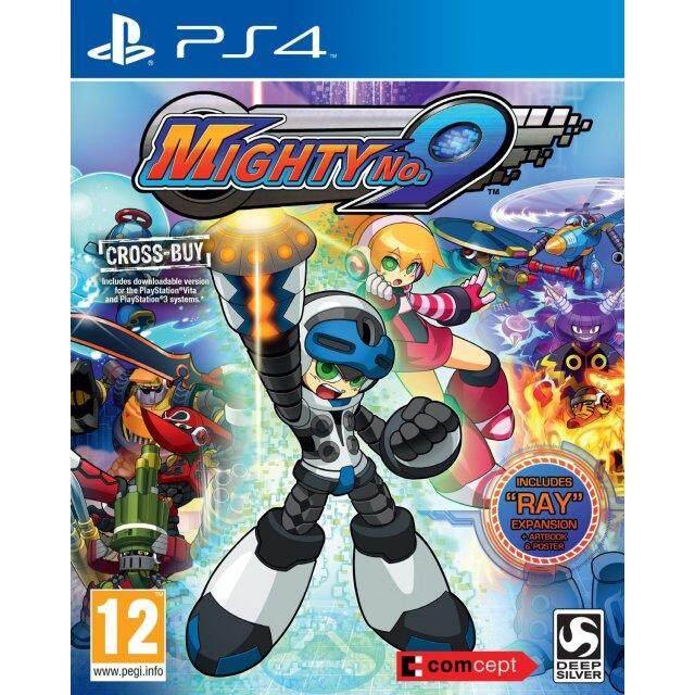 PS4 MIGHTY NO. 9 (EURO)