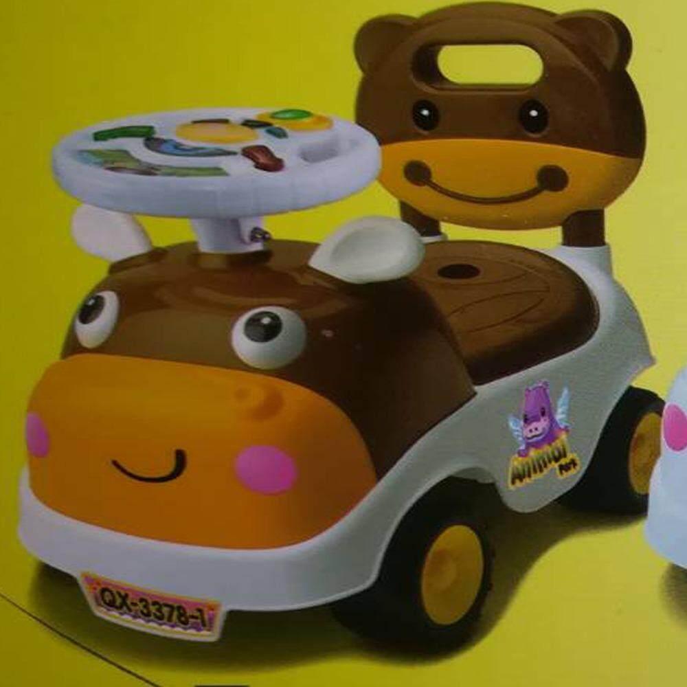 ซื้อ Natchavee รถขาไถ รถของเล่นเด็ก มีเสียงเพลง รุ่นหน้าการ์ตูน ฝึกทักษะการเดินและทรงตัวเด็ก ใน กรุงเทพมหานคร