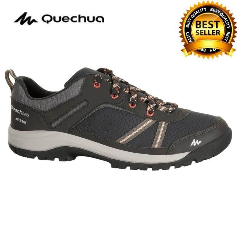 รองเท้าเดินป่า กันน้ำได้ รองเท้าเดินป่ากันน้ำ สำหรับผู้หญิง รุ่นnh300 (สีดำ)ออกแบบมาให้สามารถเดินกลางฝนได้ รองรับแรงกระแทกได้ดี น้ำหนักเบา ทนทานและการยึดเกาะยิ่งขึ้น By Shopping Lizm.