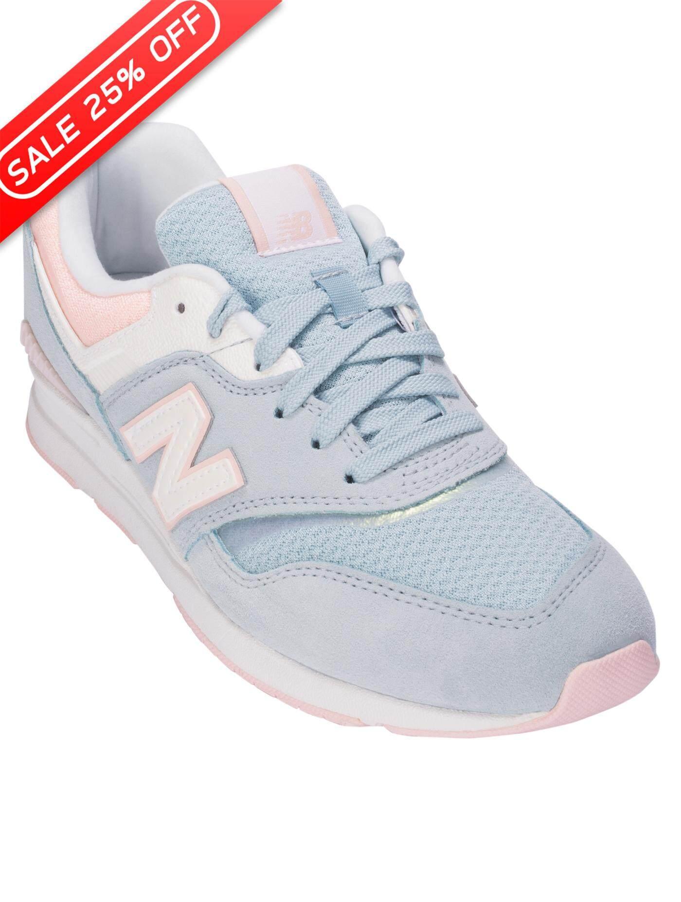 ชัยนาท NEW BALANCE รองเท้าลำลองผู้หญิง รุ่น 697 ไซส์ สีเทา