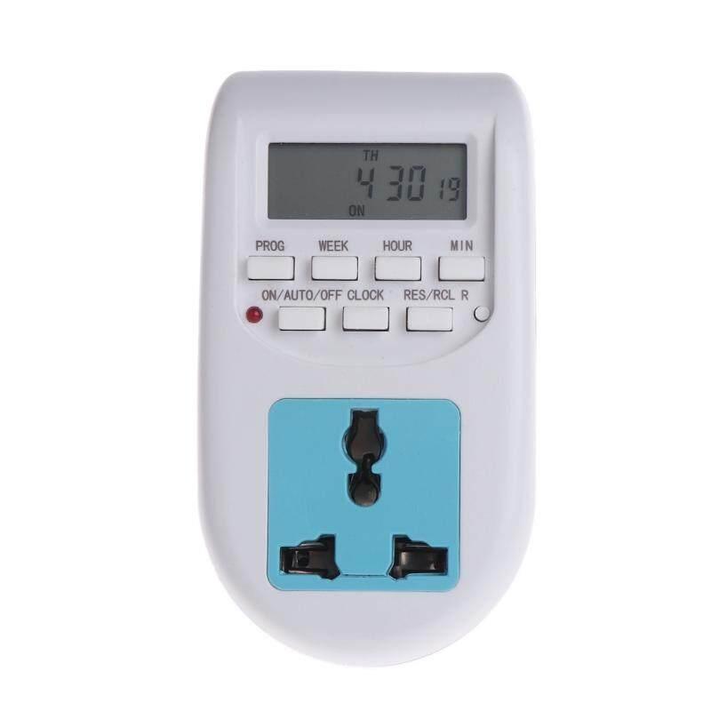 ปลั๊กไฟ เครื่องตั้งเวลา แบบดิจิตอล เปิด/ปิด อัตโนมัติ 16 ช่วงเวลา Digital Display Energy Saving Timer Programmable Socket Timer By Easylink.