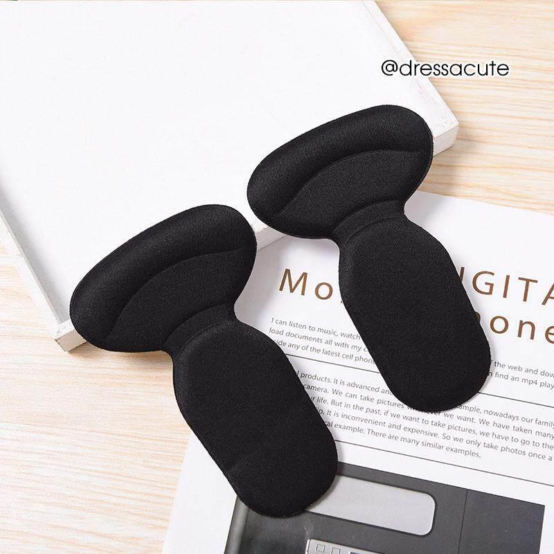 แผ่นกันกัด แก้รองเท้าหลวม ครึ่งเท้า รูปตัวที รุ่น 842 (สีดำ) By Fashion Shoes Company Limited.