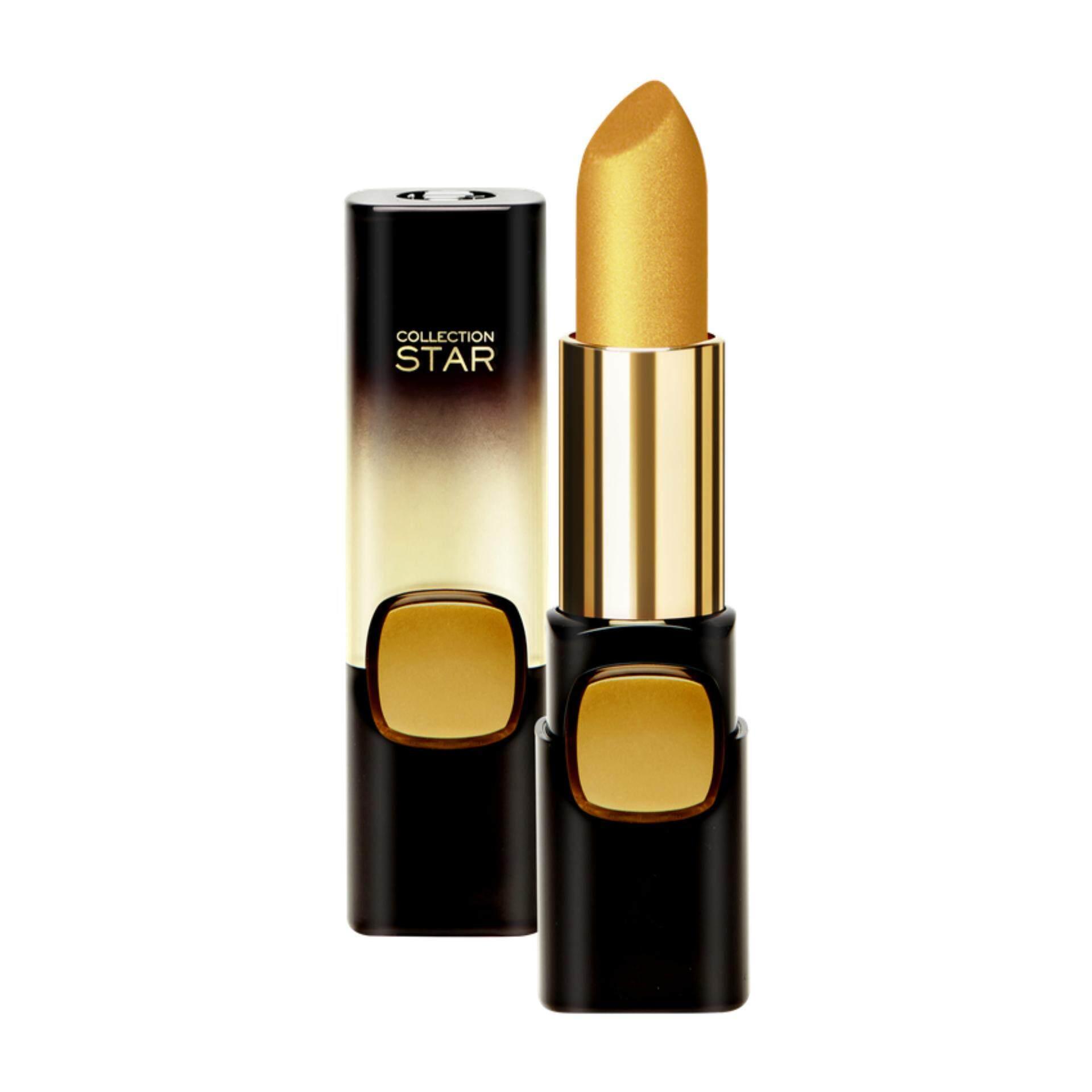 ราคา Bestselling ลอรีอัล ปารีส คัลเลอร์ ริช คอลเล็คชั่น สตาร์ 24K โกลด์ ลิปสติกเนื้อครีม G101 เลอ โกลด์ 3 7 กรัม L Oreal Paris Color Riche Collection Star 24K Gold G101 Le Gold 3 7 G ใหม่ ถูก