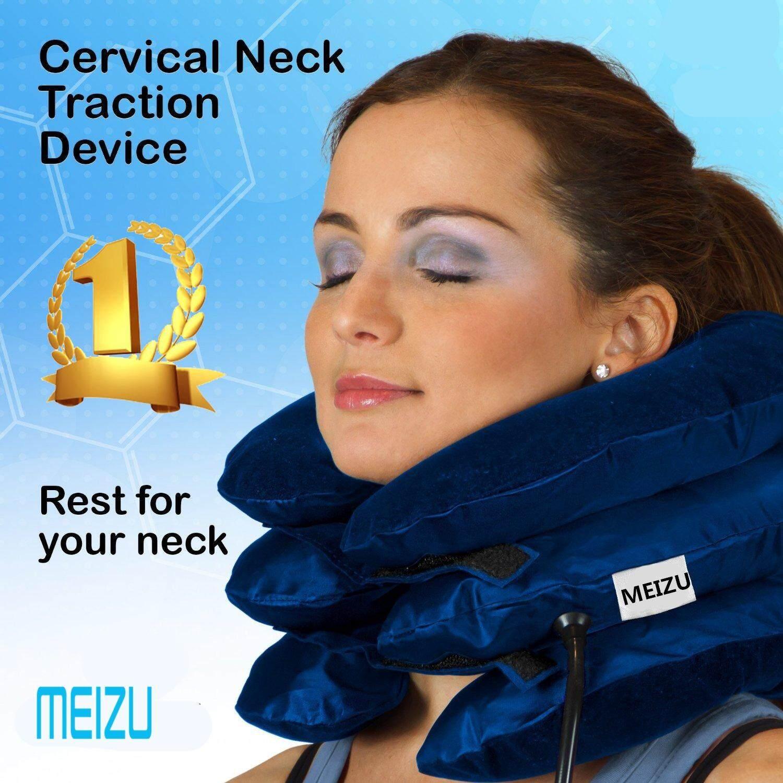 ที่ดึงคอยืดกระดุกคอ neck traction เพื่อบำบัดอาการปวดต้นคอ