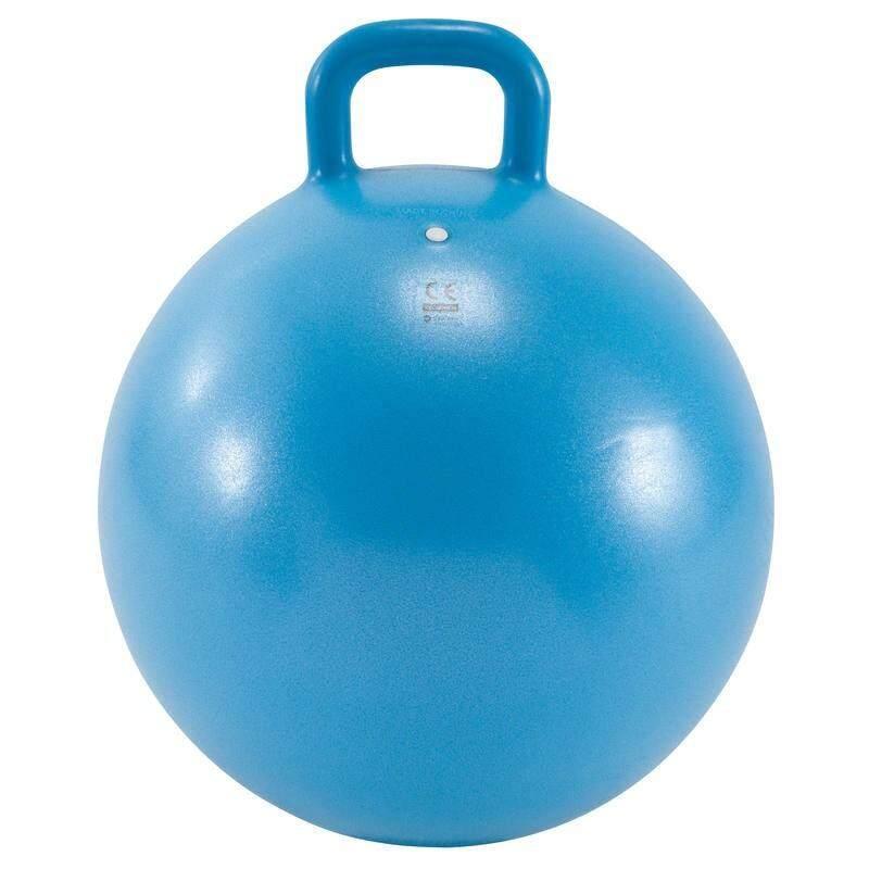 <<>>การันตีคุณภาพ<<>> อุปกรณ์ยิมนาสติกเด็ก ลูกบอลออกกำลังกายแบบมีหูจับสำหรับเด็กรุ่น Resist ขนาด 45 ซม. (สีฟ้า) By Konte.