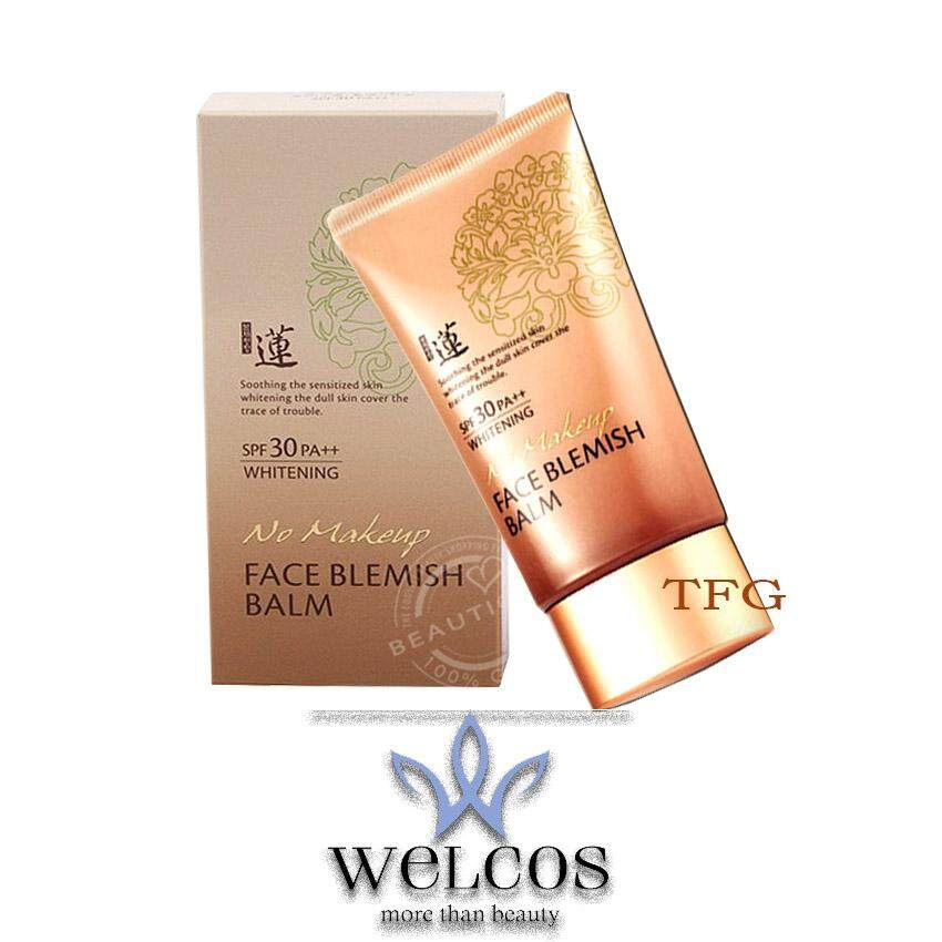 Welcos No Makeup Face Blemish Balm SPF30 PA++ Whitening 50ml. (1 กล่อง)