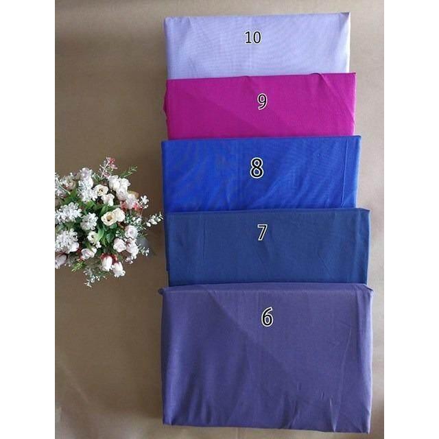 ขาย ซื้อ ผ้าปูที่นอนรัดมุม สีพื้น เบอร์ 9 บานเย็นอมม่วง เกรด A ขนาด 6 ฟุต 5 ชิ้น ไม่รวมผ้านวม สีของจริงอาจเปลี่ยนเเปลงตามหน้าจอนะคะ รหัส M042 6X5