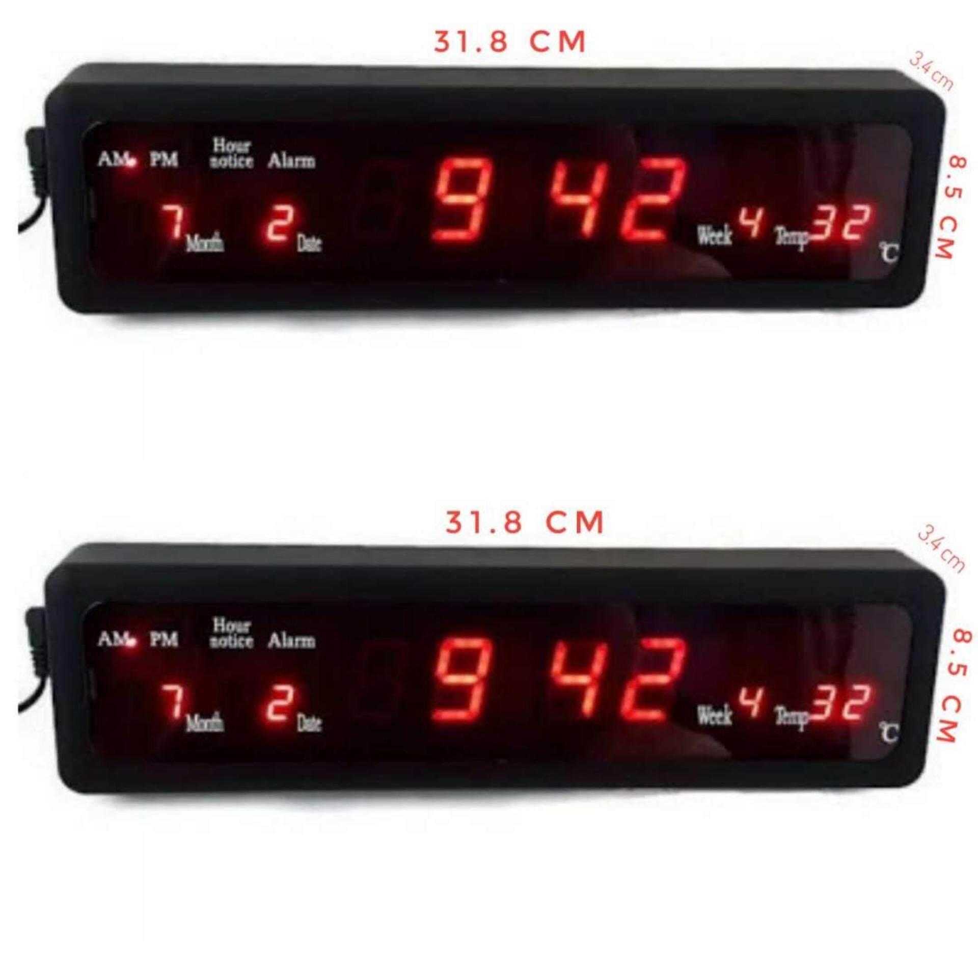 Caixing นาฬิกาดิจิตอล รุ่น Cx 808 ตัวเลขสีแดง Caixing ถูก ใน กรุงเทพมหานคร