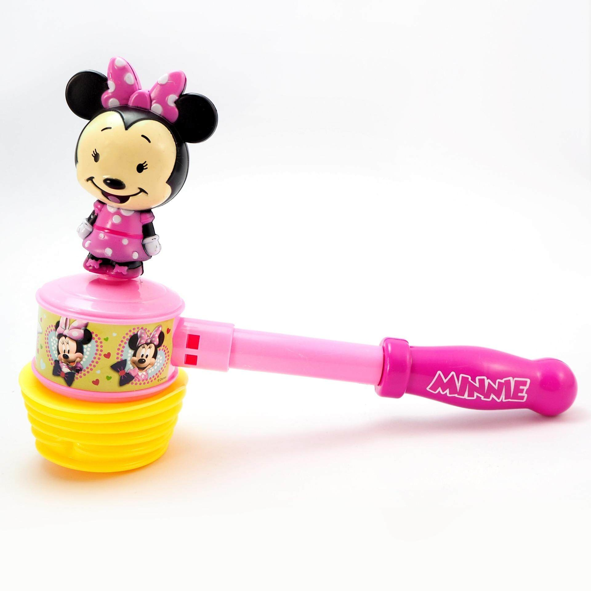 มินนี่เม้าส์ ของเล่น ฆ้อน ทุบแล้ว มีเสียง Minnie Mouse By K Toy Club.