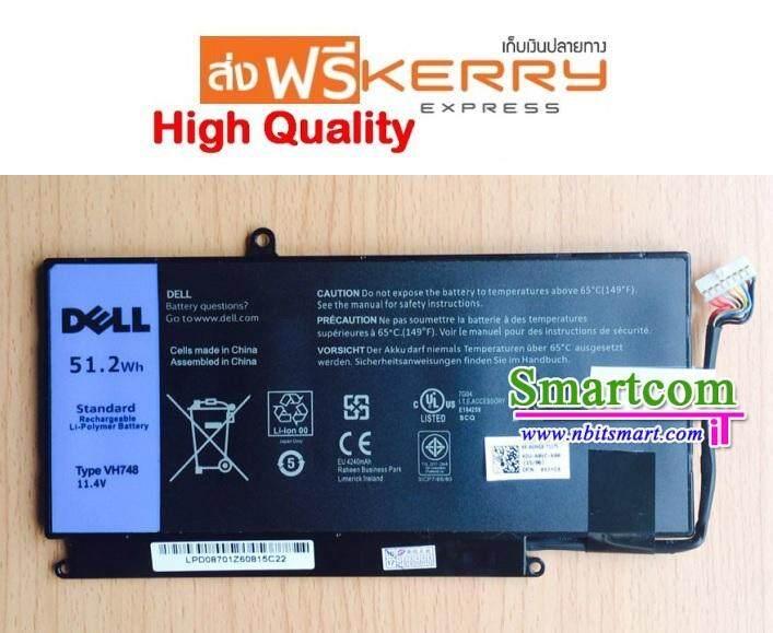 แบตเตอรี่ แท้ Battery Dell Vostro 5460 5470 5480 5560 V5460 V5470 V5480 V5560 14-5439 V5460d V5470d V5560r Vh748 Inspiron 14-5439 14zd-3526 14zd-3528 14zd-3528t By Smartcomit.