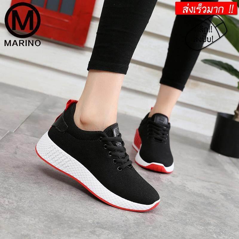 Marino รองเท้า รองเท้าผ้าใบ รองเท้าแฟชั่น No.a065 By Marino.