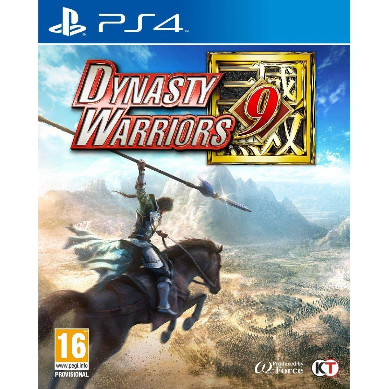 PS4 DYNASTY WARRIORS 9 (Europe)