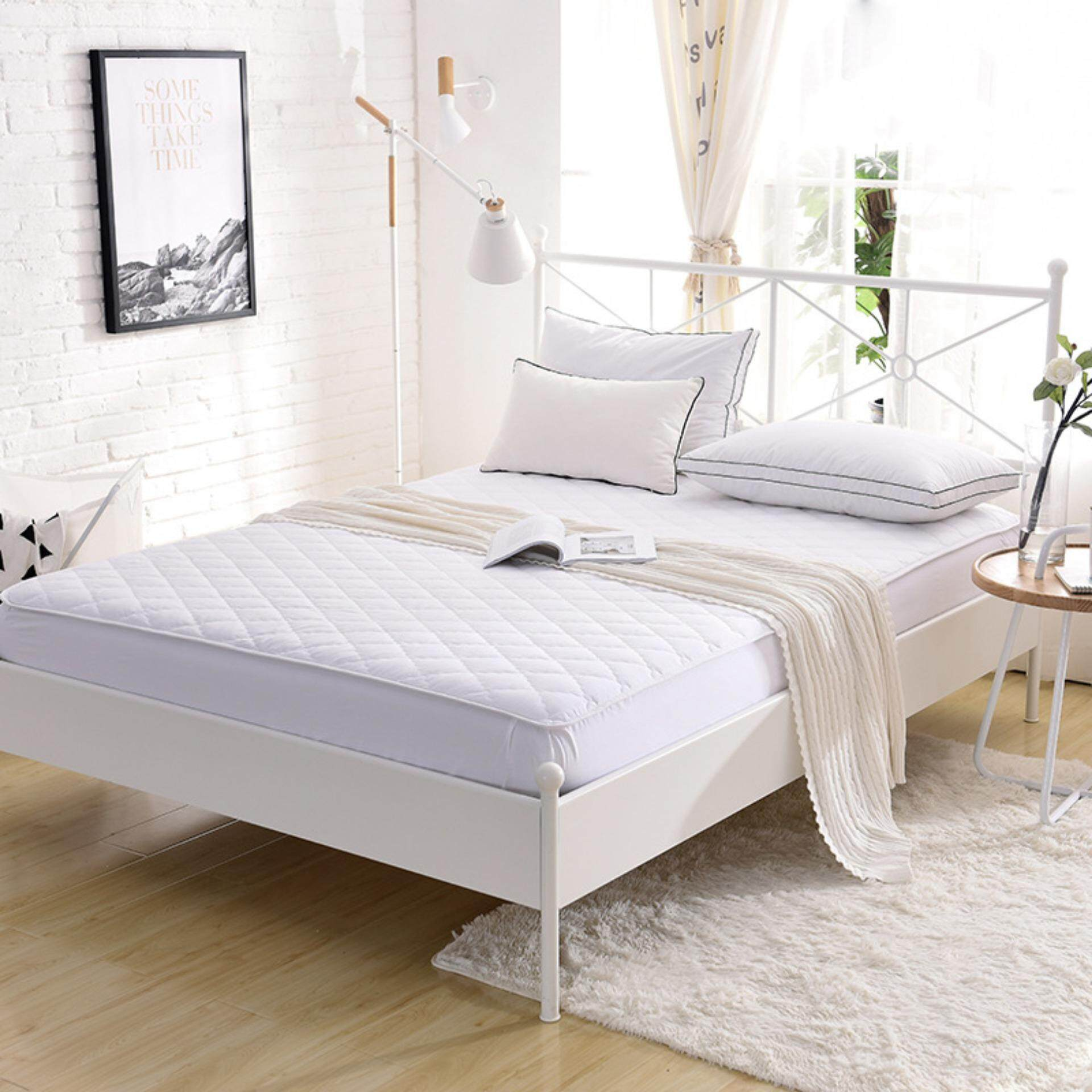 ผ้ารองกันเปื้อน ปลอกที่นอน ผ้ารองกันเปื้อนเกรดโรงแรม ป้องกันไรฝุ่น  Mattress Protector