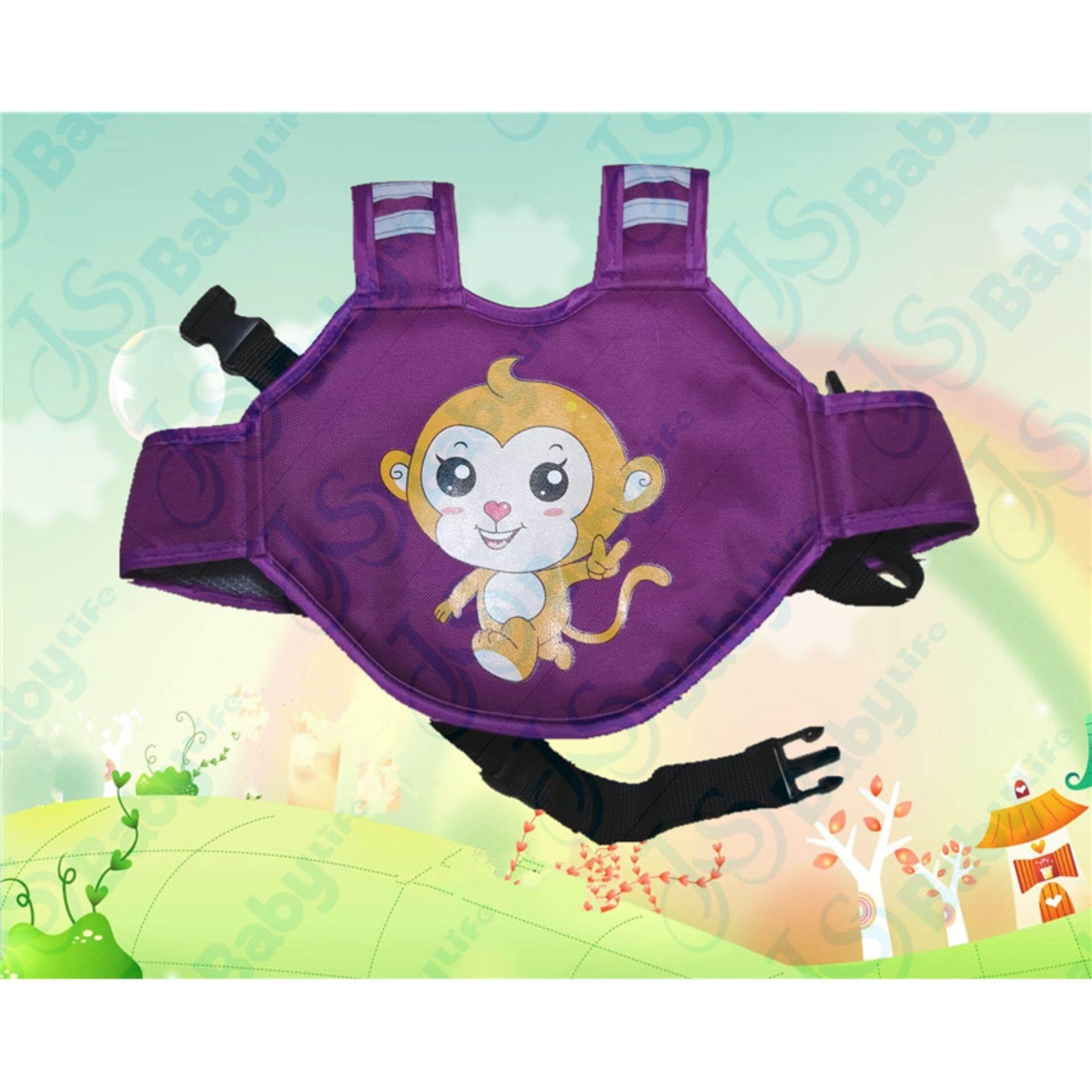 baby life สายรัดนิรภัยกันเด็กตกรถมอเตอร์ไซต์ สำหรับเด็กอายุ 3 - 10 ปี แบบกระเป๋าเป้สะพายหลัง สำหรับขับขี่มอเตอร์ไซต์ รุ่น:D1