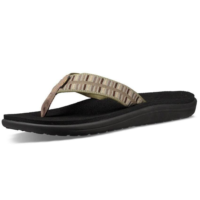 436e5c0c1 Teva รองเท้าแตะ Teva Men s Voya Flip Flops Sandals 1019050-COV (Cole Olive)