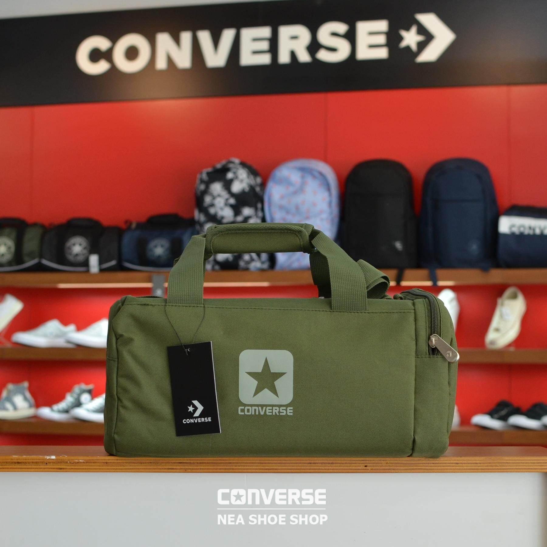 3b3edd4c86  ลิขสิทธิ์แท้  Converse SPORTY BAG สีเขียว (กระเป๋ารุ่นสุดฮิต)