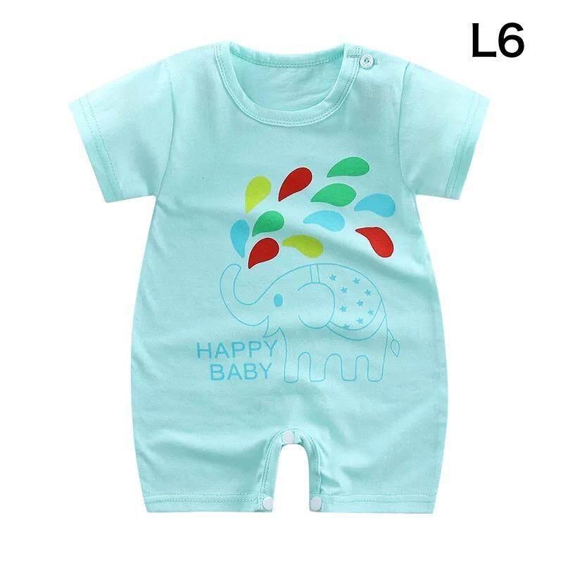 เสื้อผ้าเด็กทารก ชุดบอดี้สูทเด็ก ชุดจั๊มสูทเด็กทารก (ขนาด 0 - 12 เดือน).