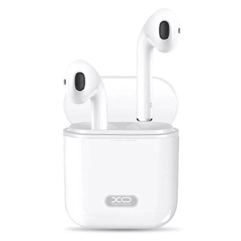 ลดสุดๆ [Wevery]- หูฟัง XO F10 Double Ear Wireless Bluetooth หูฟัง mi xiaomi หูฟัง หูฟังโทรศัพท์ หูฟังโทรศัพ ส่ง Kerry เก็บปลายทางได้