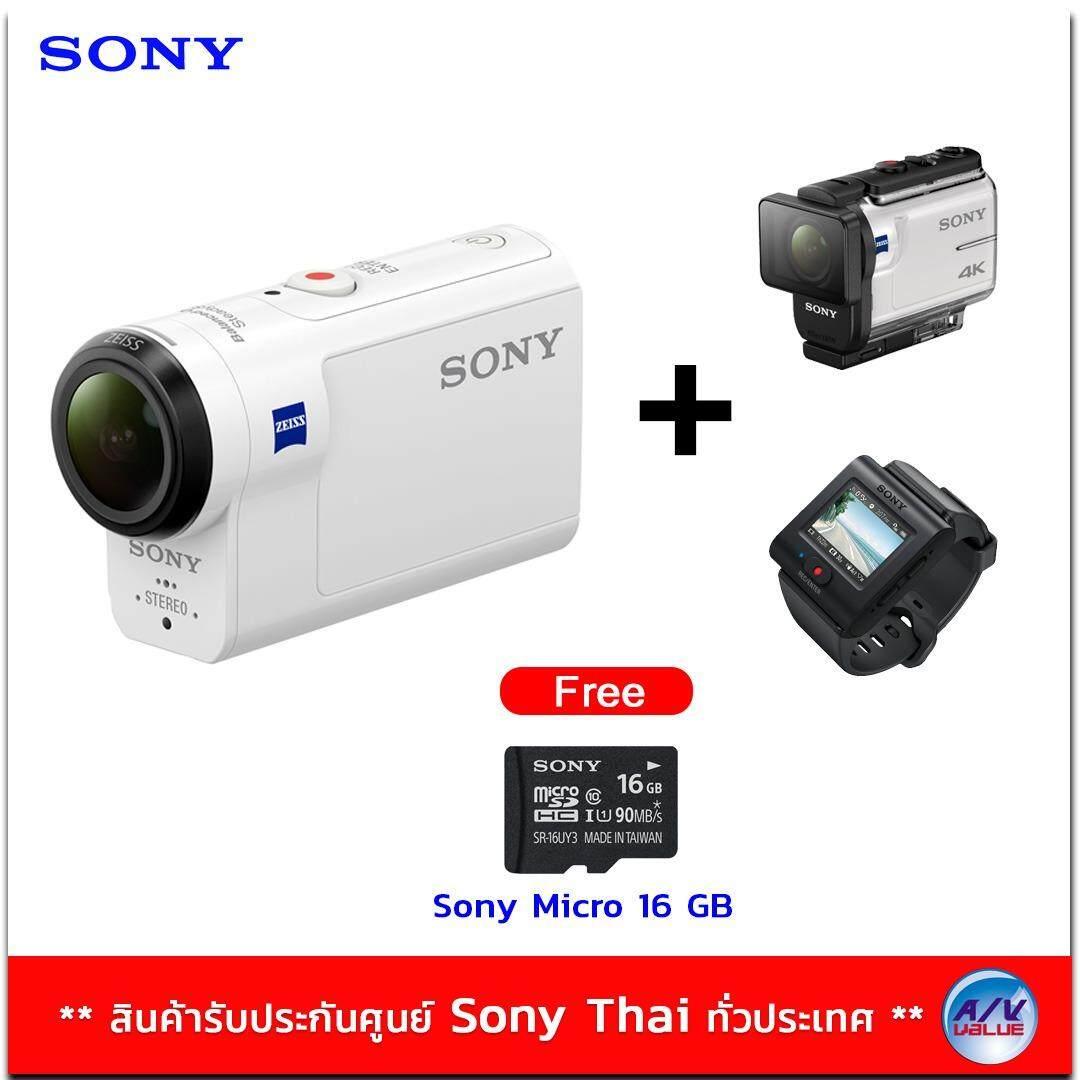 Sony Action Camera With Wi Fi รุ่น Hdr As300R แถมฟรี Sony Micro Sd 16Gb ใน กรุงเทพมหานคร