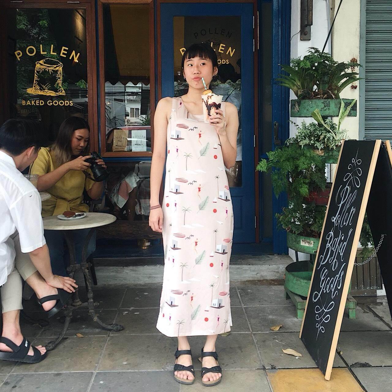 Pudee Weekend Dress เดรสยาว