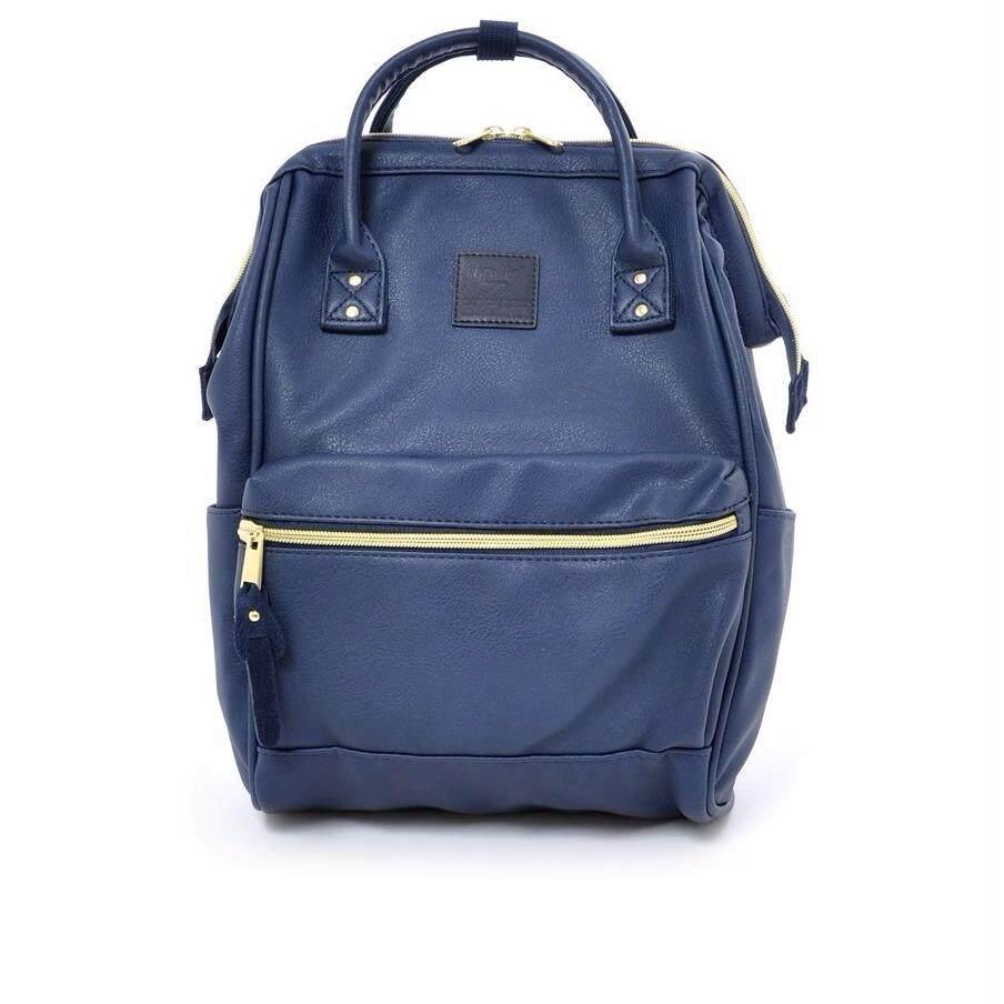 ยี่ห้อนี้ดีไหม  บุรีรัมย์ กระเป๋าเป้ Anello PU Backpack Classic Size - Japan Imported 100%