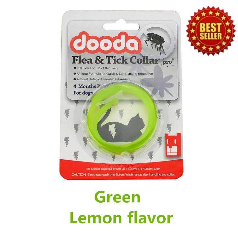 Crvid Dooda Flea & Tick Collar Pro ปลอกคอกันเห็บ หมัด ป้องกันกำจัดเห็บหมัด ยุง และแมลงที่มากวนสัตว์เลิ้ยงแสนรัก ด้วยสารสกัดจากธรรมชาติ เหมาะสำหรับหมา แมว สุนัข ไม่เป็นอันตรายต่อสัตว์เลิ้ยง ใช้งานได้ 4 เดือน รุ่น No.01065(สีเขียว) By Crvid.