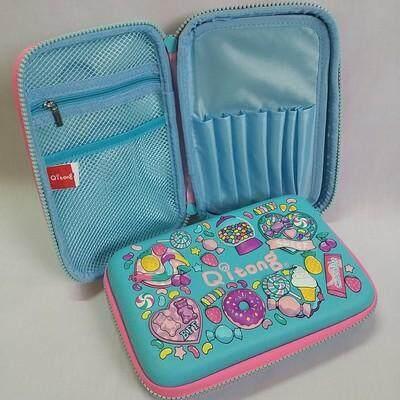 สุดยอดสินค้า!! ส่งฟรี Kerry !!! ขาย กล่องดินสอสมิกเกิ้ล EVA กระเป๋าดินสอ กล่องดินสอ smiggle hardtop pencil case 3d 3ดี ลาย ขนมหวาน สีฟ้า