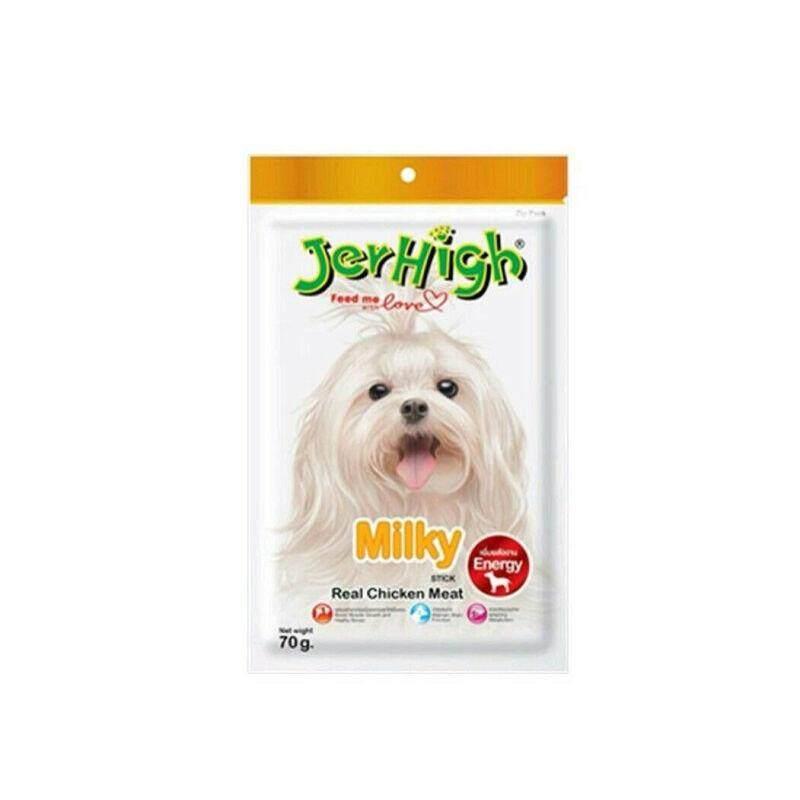 เจอร์ไฮขนมสุนัขสติ๊กมิลกี้ 70กรัม By Forrestbehm.