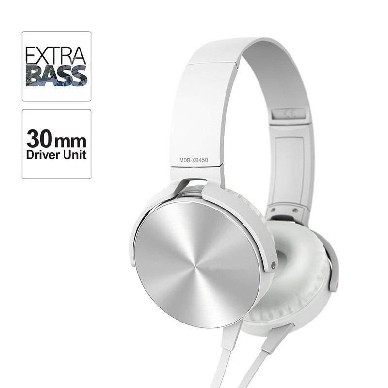 Dn หูฟังครอบหูแบบเสียบสาย Stereo Headphones Extra Bass Mdr-Xb450.