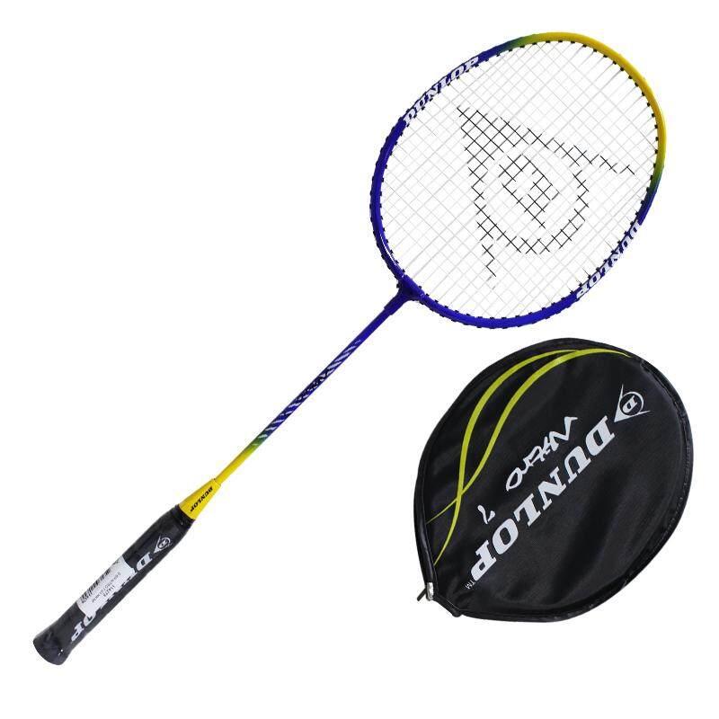 Dunlop ไม้แบด แบดมินตัน Badminton Racket+bag Nitro 7 G1 Hh Nf 114278.