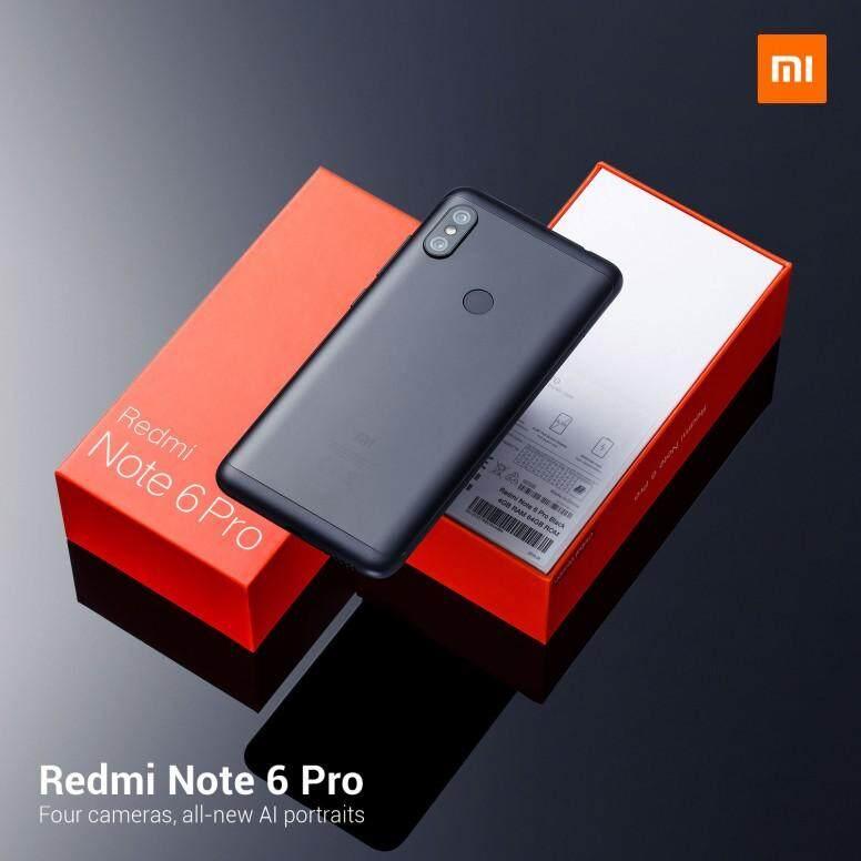 สอนใช้งาน  มุกดาหาร Xiaomi Redmi Note 6 Pro มือ1 ประกันศูนย์  มีทุกสี