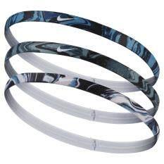 Nike ผ้ารัดศรีษะ Nike Printed Headbands Assorted 3PK แพ็ค 3 ชิ้น JN.94.908(590)