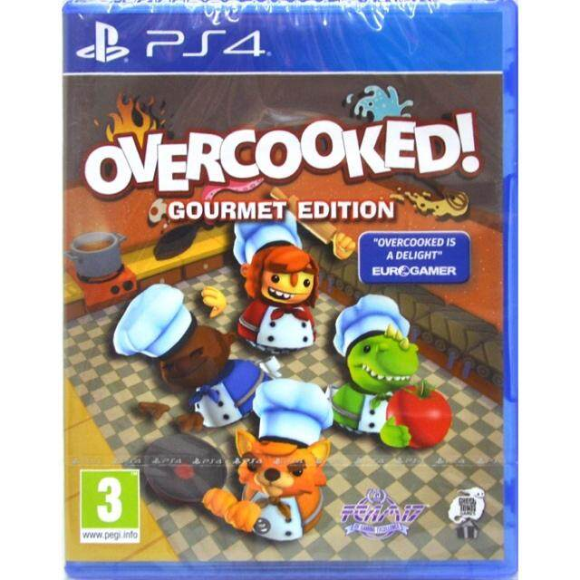 PS4 Overcooked ! Gourmet Edition ( English )