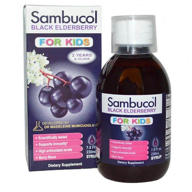 Sambucol Black Elderberry 230ml. By Kiddy.
